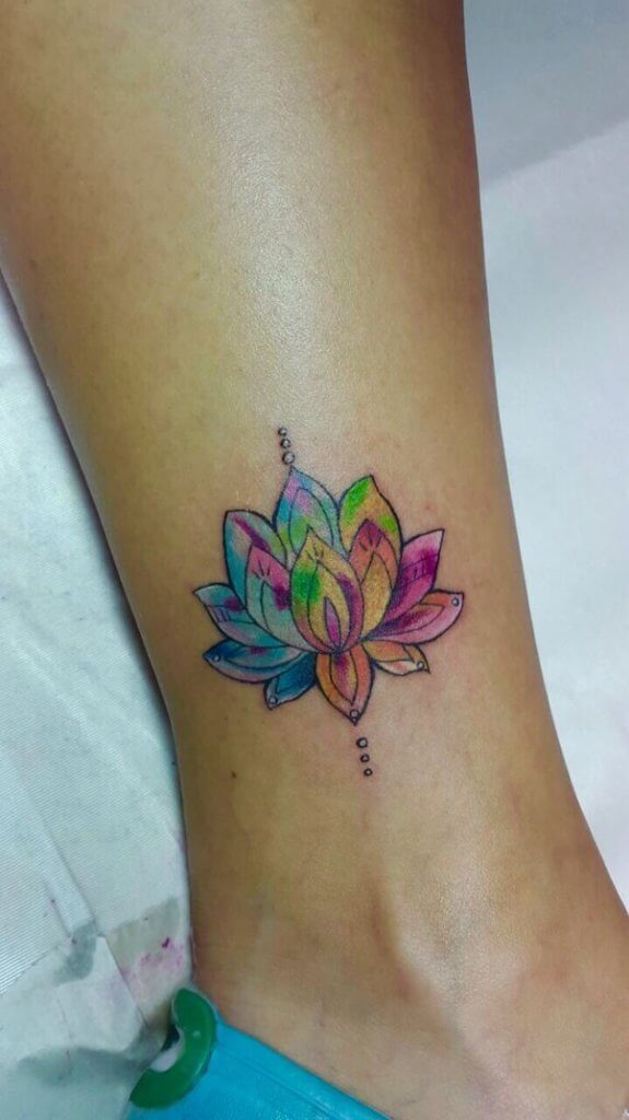 Lotus Flower Tattoo meaning and symbolism 19