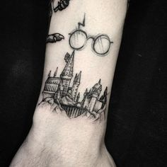 Mesmerizing Harry Potter tattoo ideas for men 25