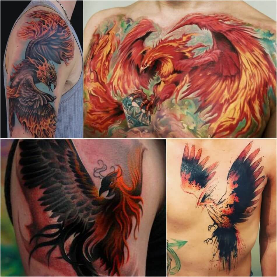 The Most Loved Bird Tattoos for men 3