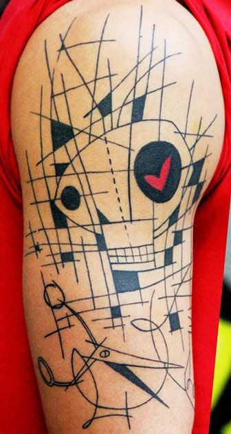 Mindblowing abstract tattoo ideas for men and women 14