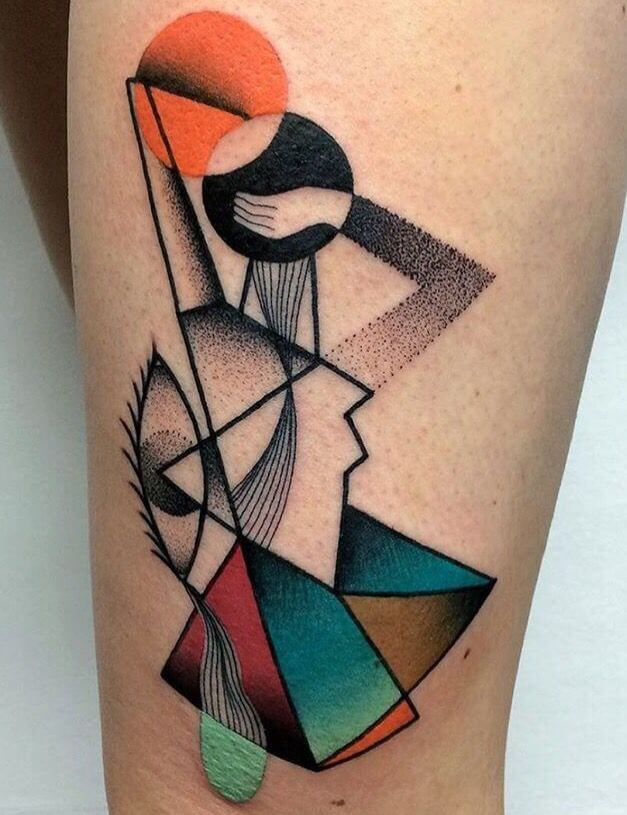 Mindblowing abstract tattoo ideas for men and women 13