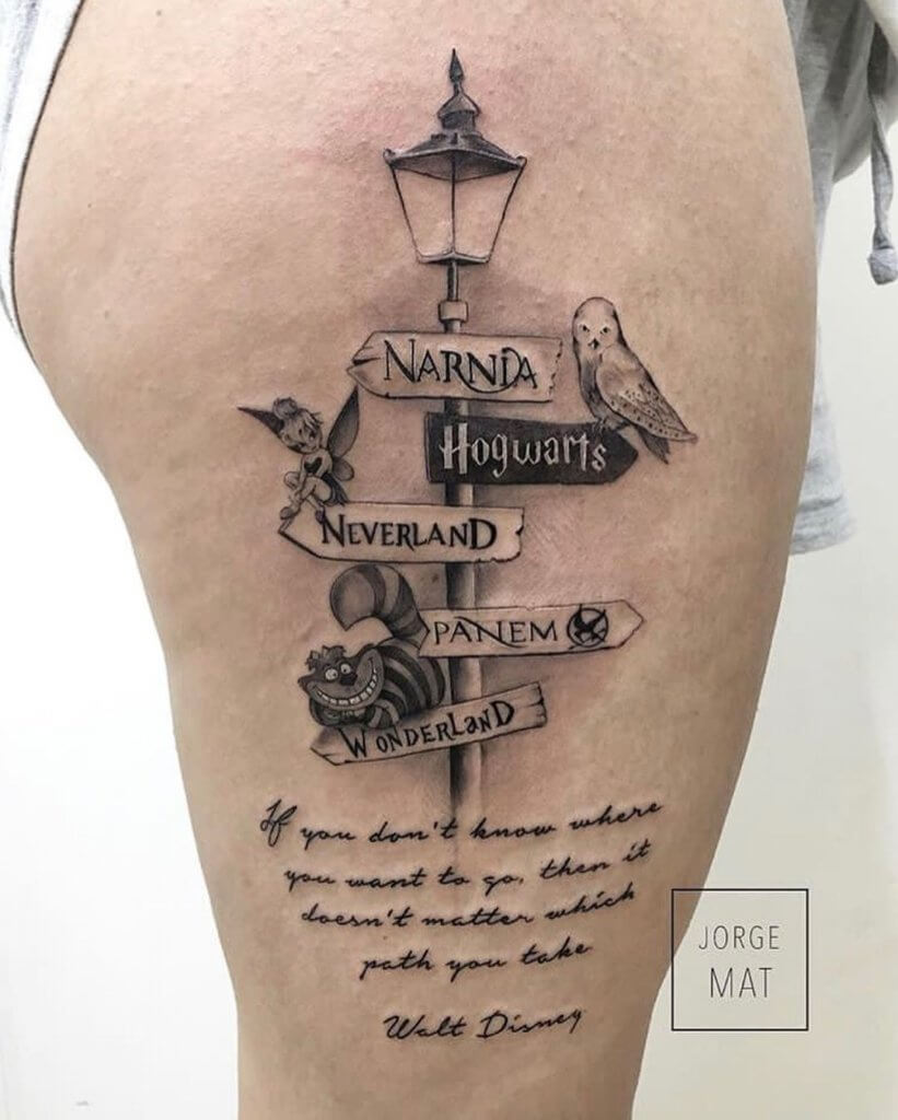 Mesmerizing Harry Potter tattoo ideas for men 46