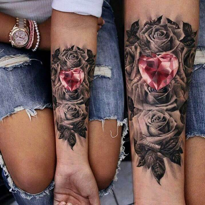 Mind boggling half sleeve tattoo ideas for Women 1