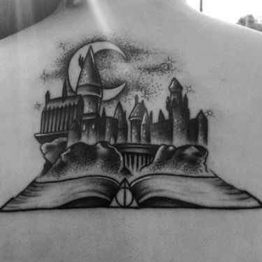 Mesmerizing Harry Potter tattoo ideas for men 45