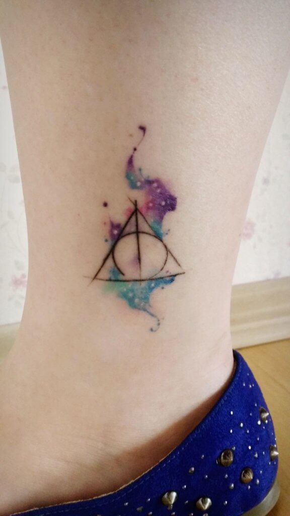 Mesmerizing Harry Potter tattoo ideas for men 27