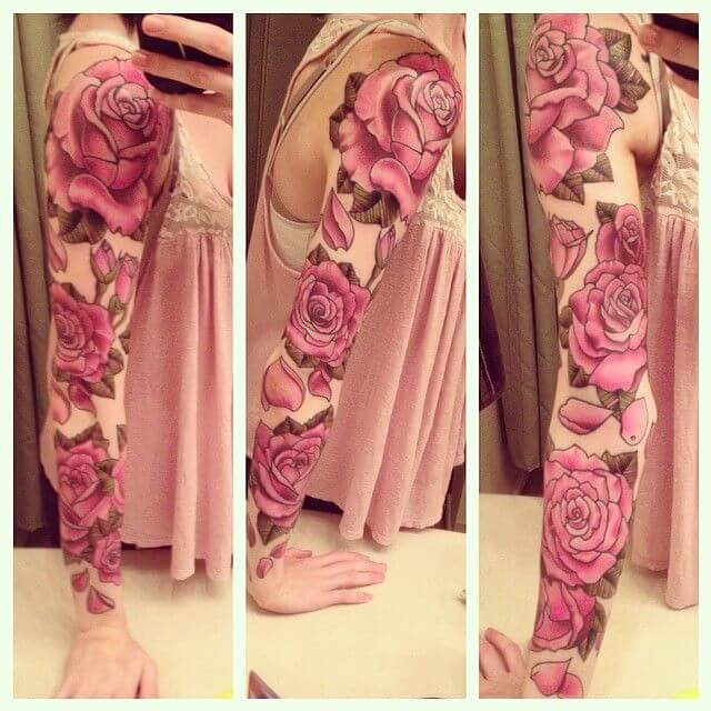 Mind boggling half sleeve tattoo ideas for Women 2
