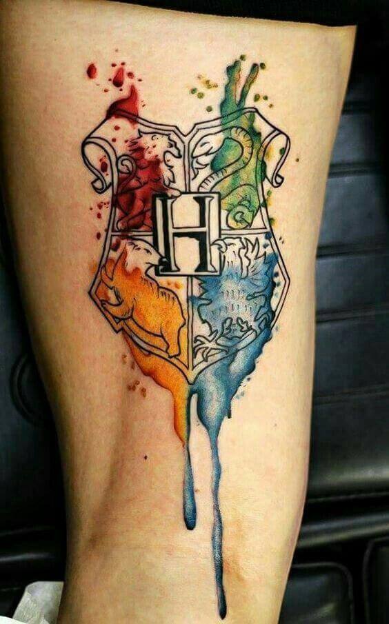 Mesmerizing Harry Potter tattoo ideas for men 37