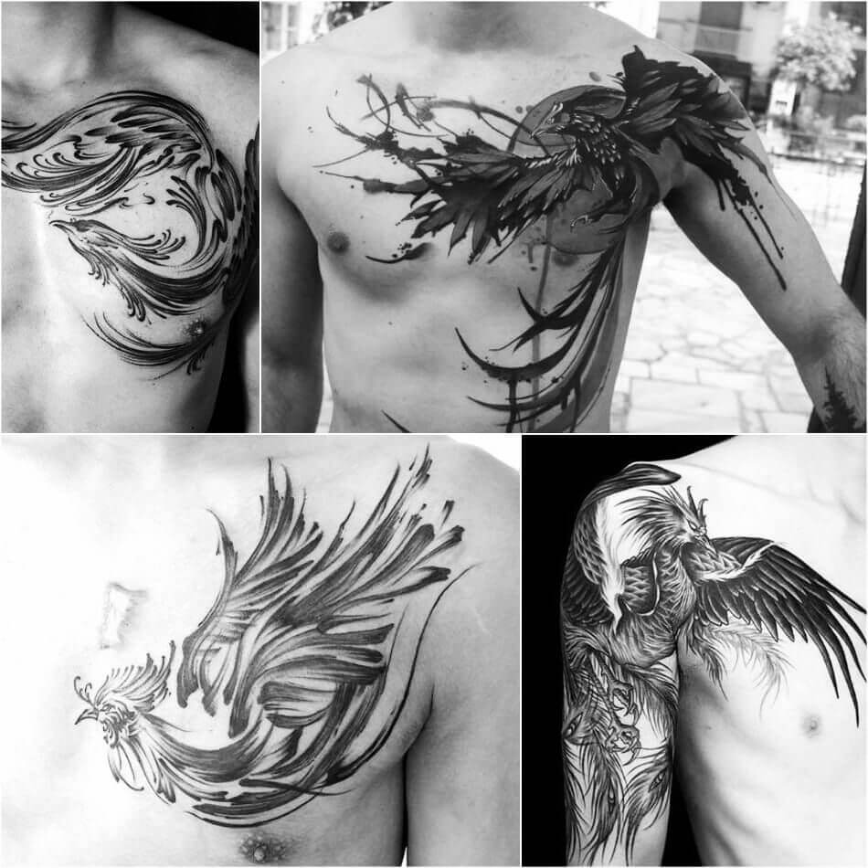 The Most Loved Bird Tattoos for men 8