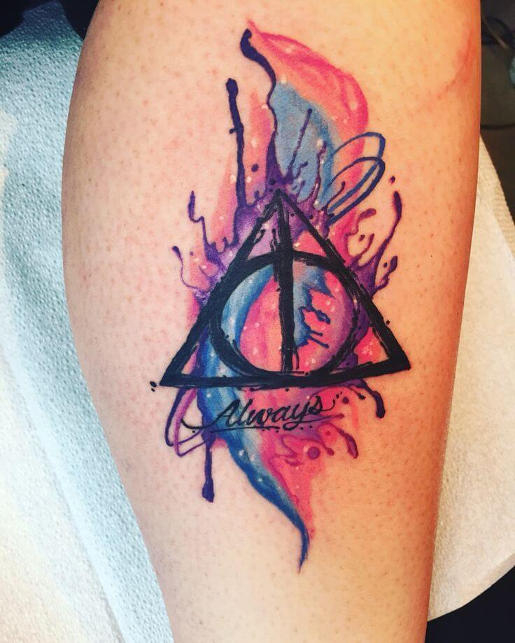Mesmerizing Harry Potter tattoo ideas for men 38