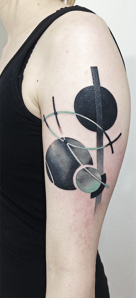 Mindblowing abstract tattoo ideas for men and women 46