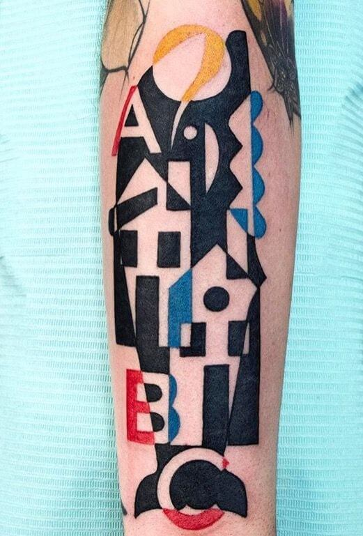 Mindblowing abstract tattoo ideas for men and women 41