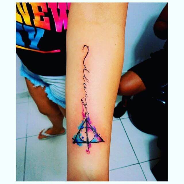 Mesmerizing Harry Potter tattoo ideas for men 17