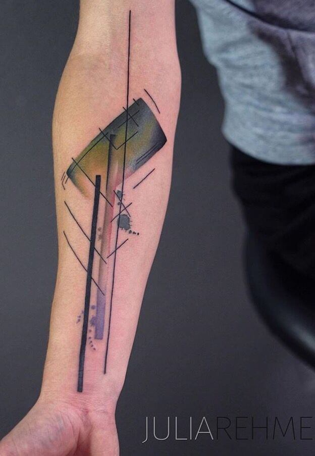Mindblowing abstract tattoo ideas for men and women 30