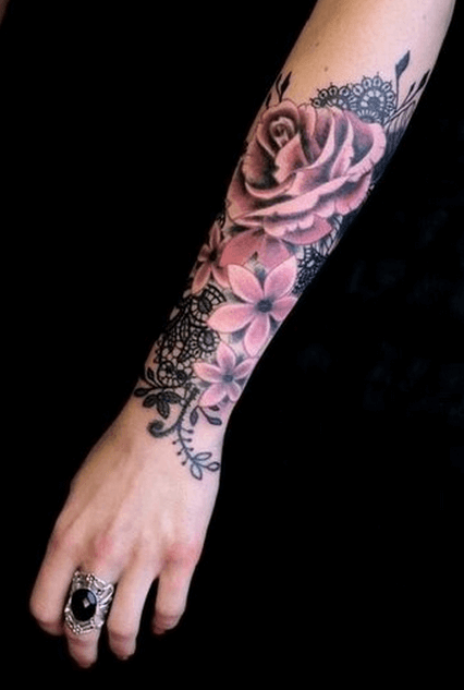 Mind boggling half sleeve tattoo ideas for Women 10