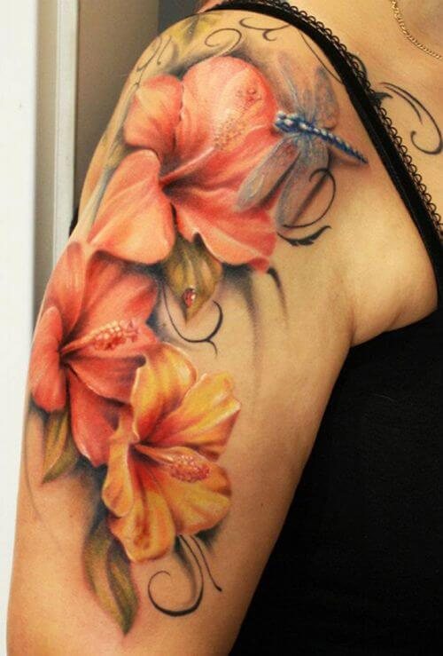 Mind boggling half sleeve tattoo ideas for Women 11