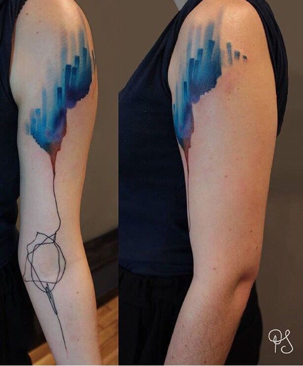 Mindblowing abstract tattoo ideas for men and women 5