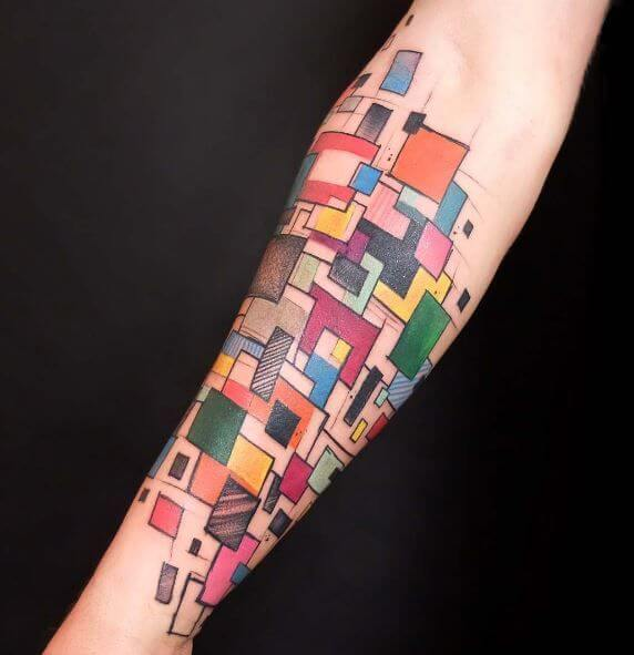 Mindblowing abstract tattoo ideas for men and women 31
