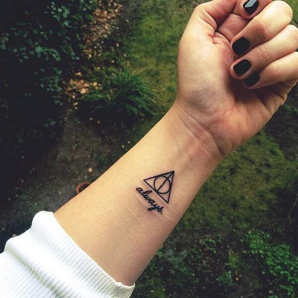 Mesmerizing Harry Potter tattoo ideas for men 34