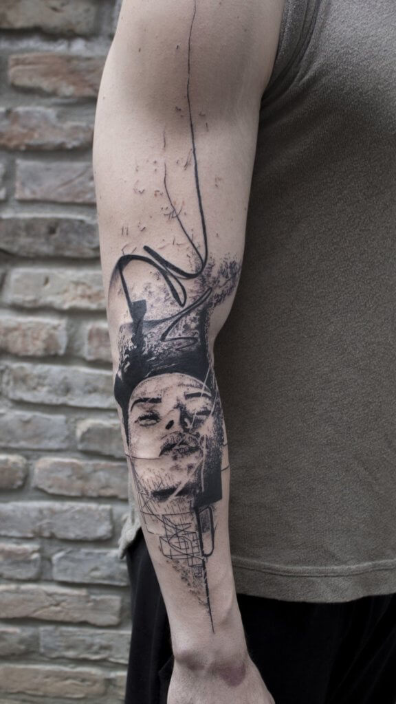 Mindblowing abstract tattoo ideas for men and women 23