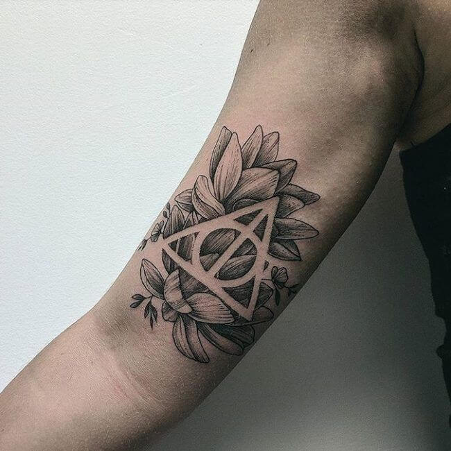 Mesmerizing Harry Potter tattoo ideas for men 15