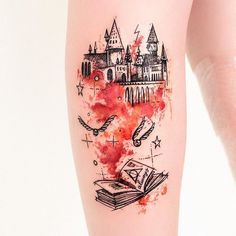 Mesmerizing Harry Potter tattoo ideas for men 20