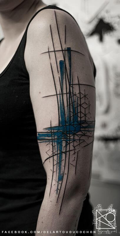 Mindblowing abstract tattoo ideas for men and women 24