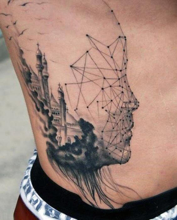 Abstract tattoos ideas