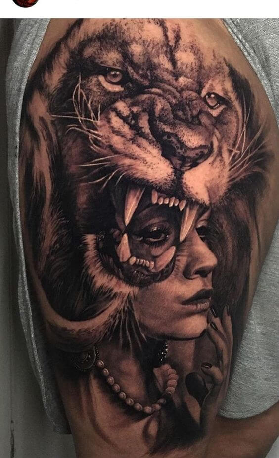 The Lion tattoo