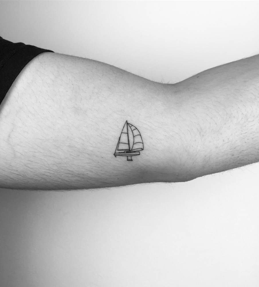 Small tattoo ideas for men that are timeless 27