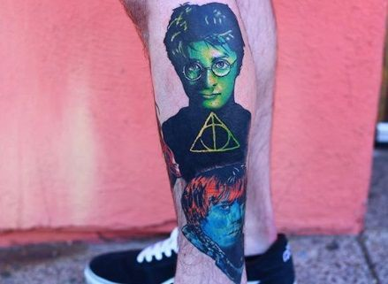 Mesmerizing Harry Potter tattoo ideas for men 4