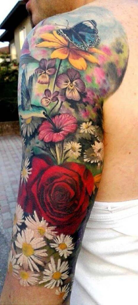 half sleeve tattoo for women