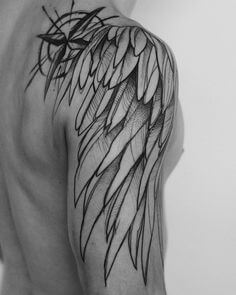 131 Angel wings tattoo ideas and meanings 15