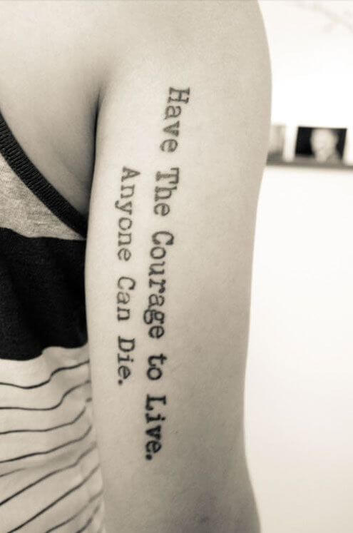 Tattoo Pantyhose - Peanuts tattoo design and quotes 4