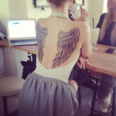 131 Angel wings tattoo ideas and meanings 5