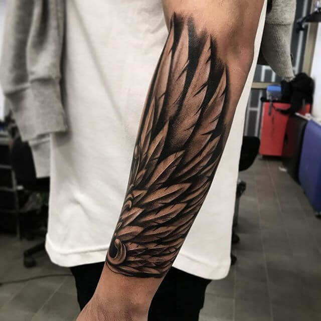 131 Angel wings tattoo ideas and meanings 18