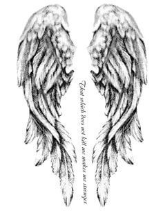 131 Angel wings tattoo ideas and meanings 10