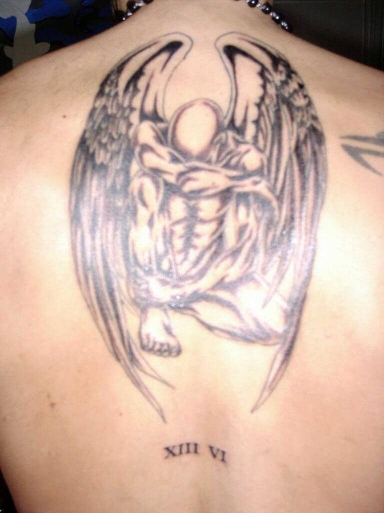 Interested in an Angel Design Tattoo? 17
