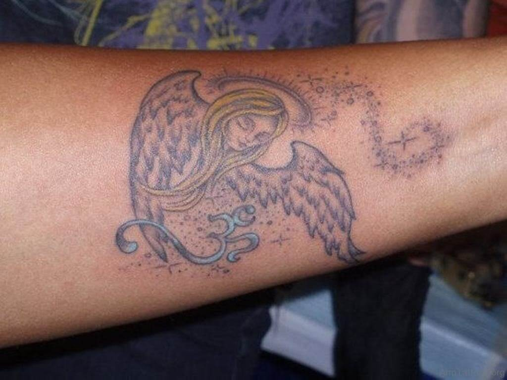 Interested in an Angel Design Tattoo? 10