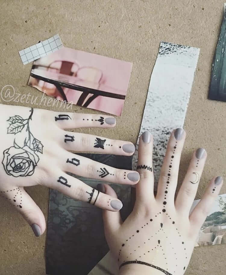 Temporary Art: Henna Tattoos 11