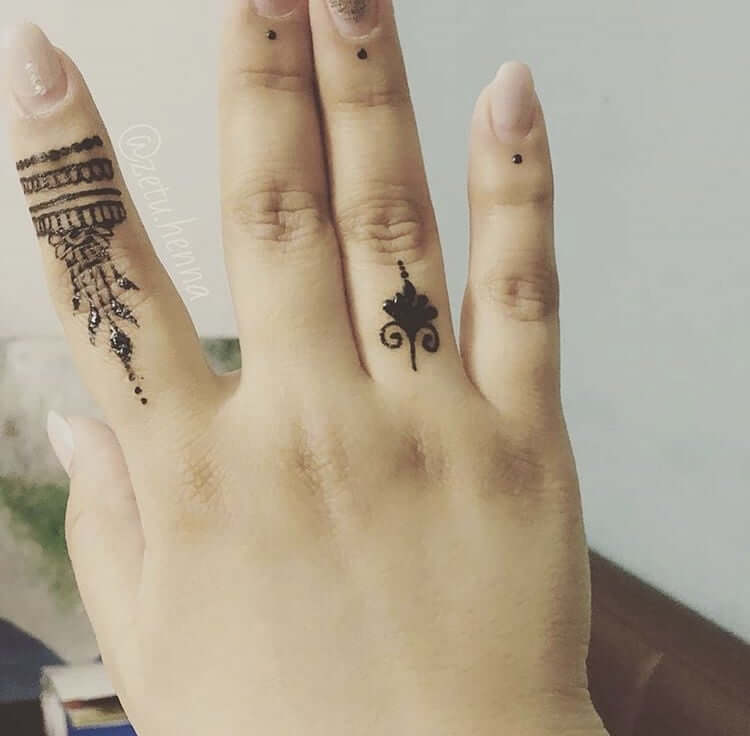 Temporary Art: Henna Tattoos 13
