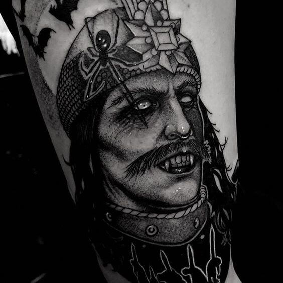 Vlad the Impaler tattoo
