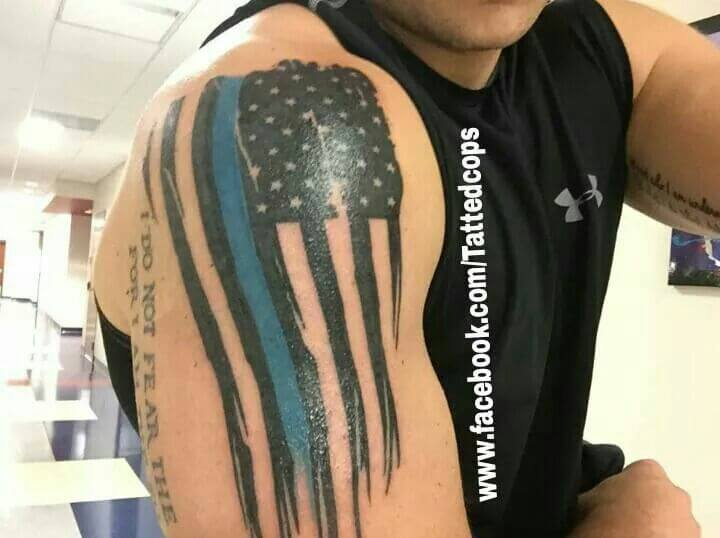 American Flag tattoo ideas for Men 6