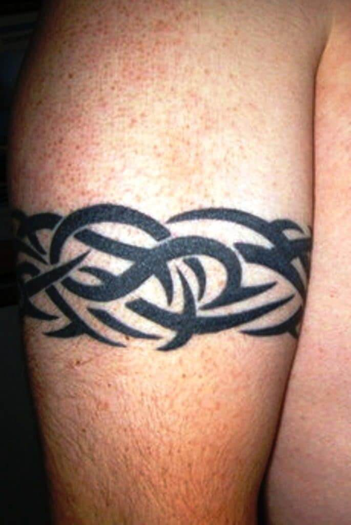Armband tattoo ideas that will sweep you off your feet 26