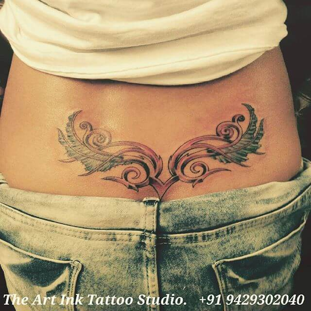 The Beauty of Lower Back Tattoos 3