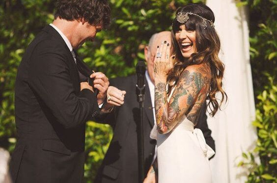 Should you hide your tattoos for wedding? 2