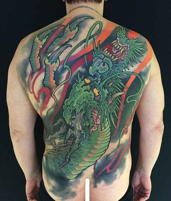 Find the Perfect Japanese Dragon Tattoo for You 1