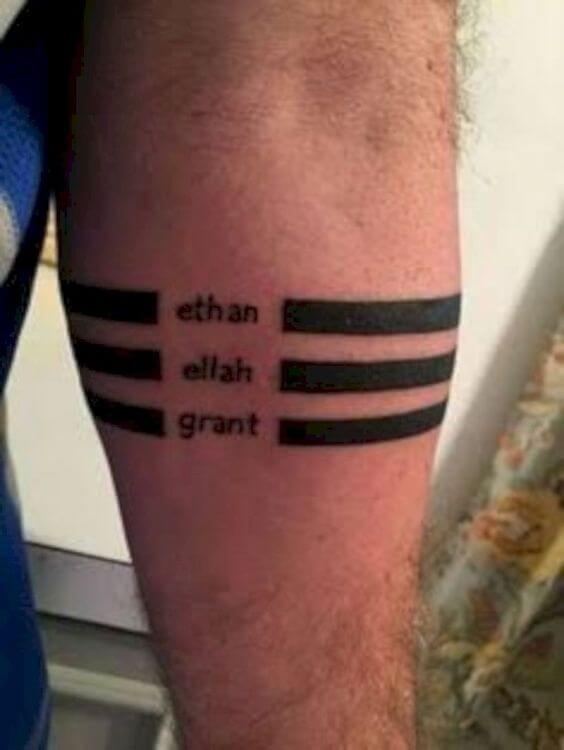 People that Tattoo Their Lovers' Names on Their Bodies 1
