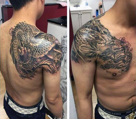 Find the Perfect Japanese Dragon Tattoo for You 5