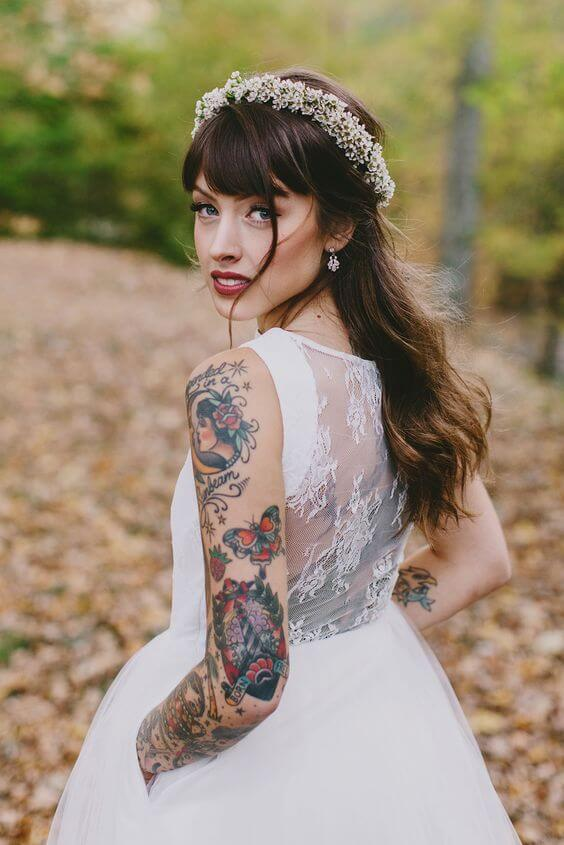 Should you hide your tattoos for wedding? 6