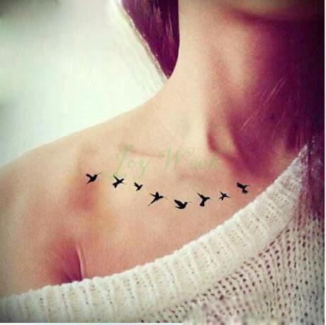 Bird Tattoos for Girls